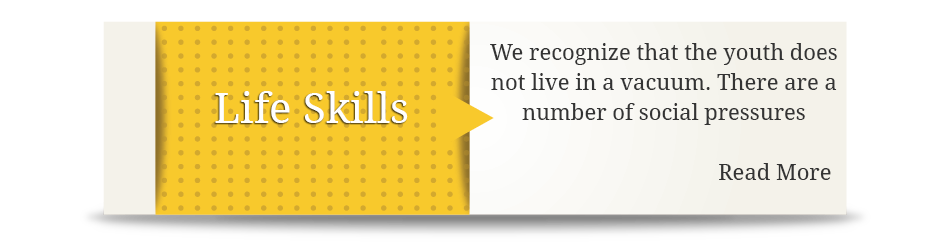 Continuing Education and Trainings Life Skills Banner